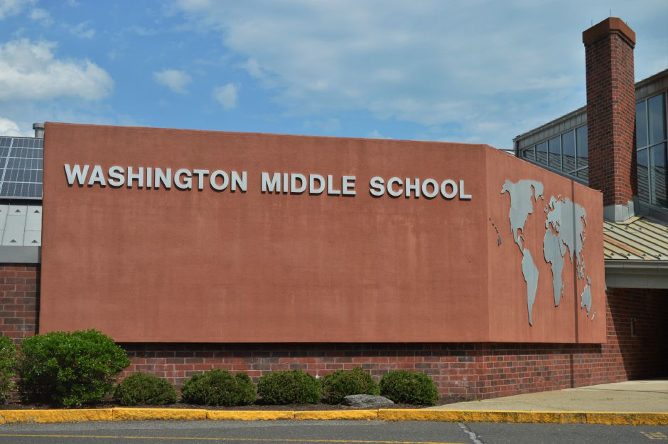 Washington Middle School in Meriden. | Clare Dignan Special to the Record-Journal