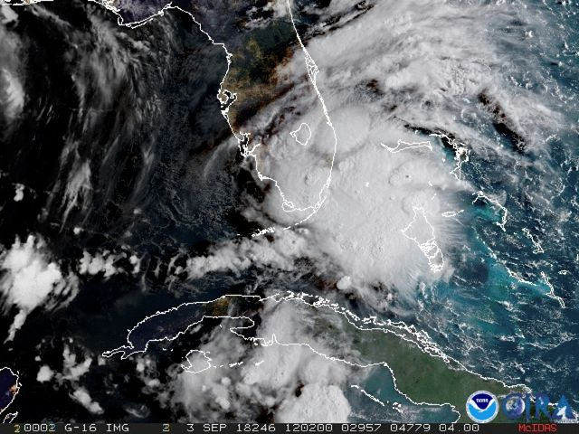 In this image released by NOAA