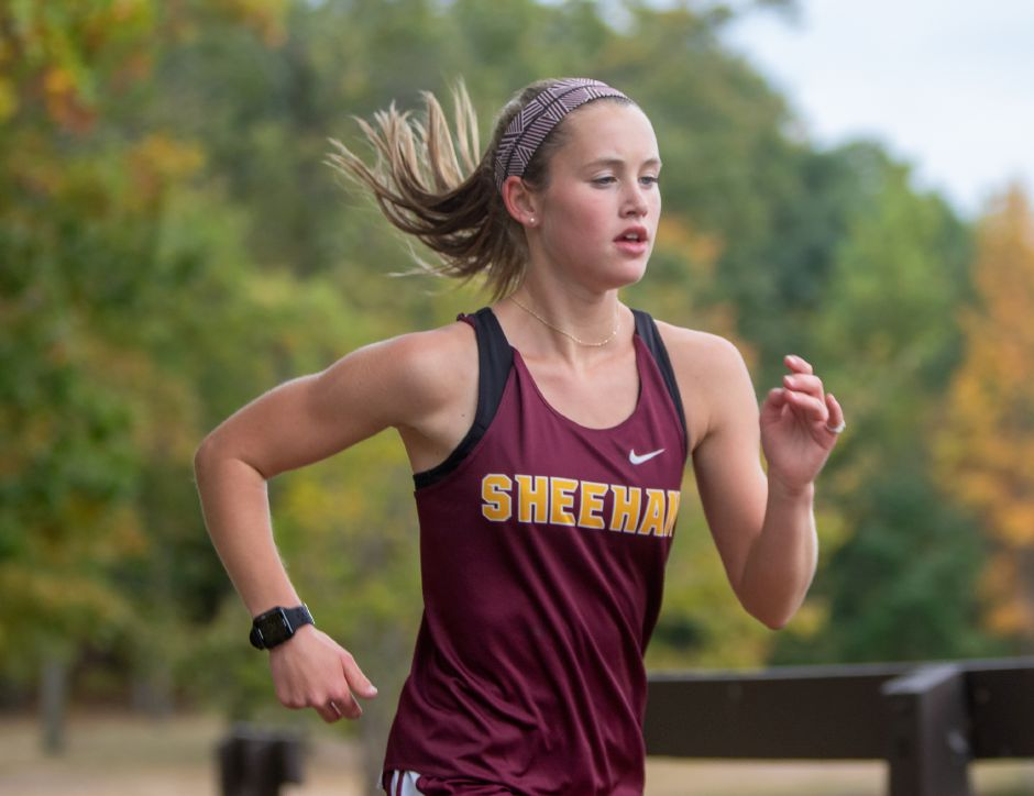 Lizzie Brown was an All-SCC First Team runner throughout her Sheehan cross country career and All-State as a junior and senior. She will continue running at Division I Siena College in New York. Aaron Flaum, Record-Journal
