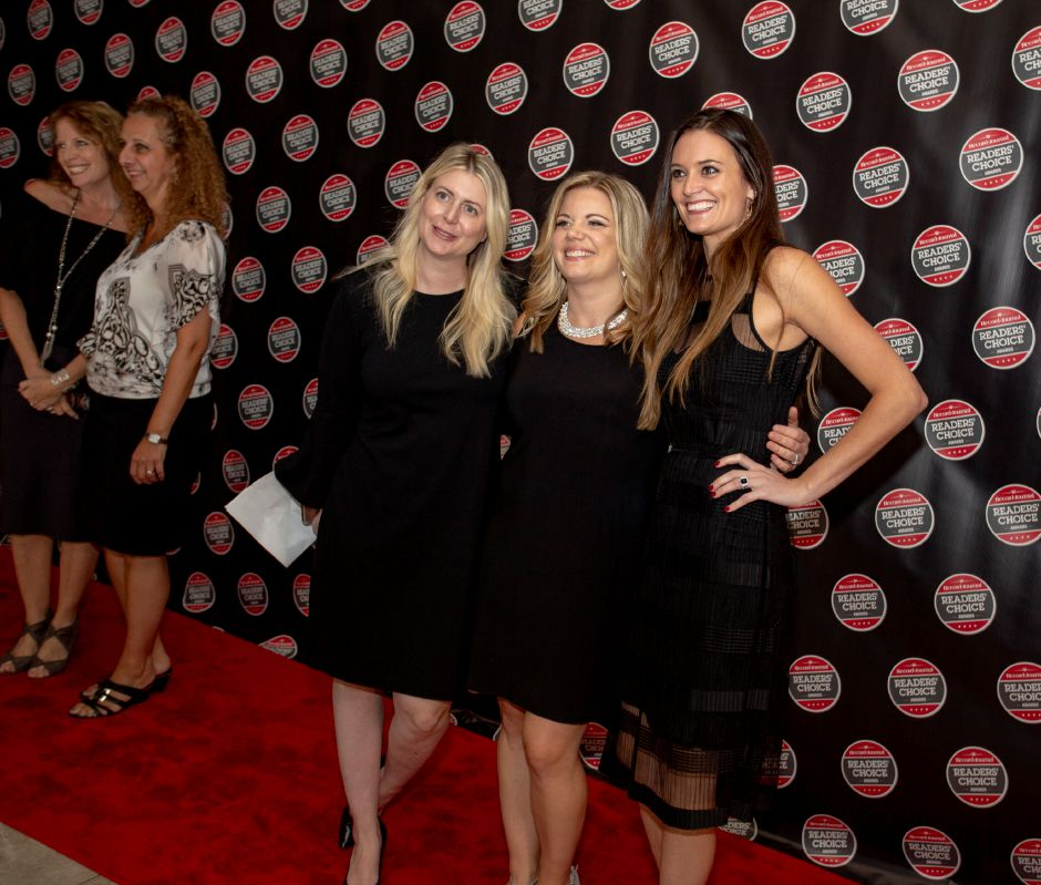 On the red carpet at the Record-Journal Reader