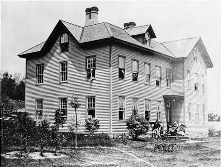 FILE: An undated photo of the Wallingford Printing Company, established by the Oneida Community that existed from 1851-1881. | Courtesy of Celeste Yanni