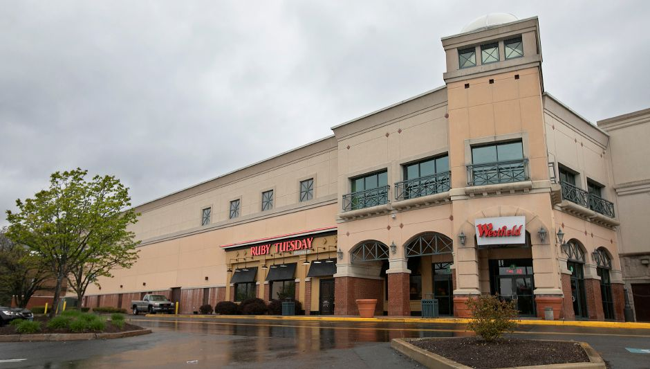 The Westfield Meriden mall Tuesday afternoon, Apr. 21, 2020. Dave Zajac, Record-Journal
