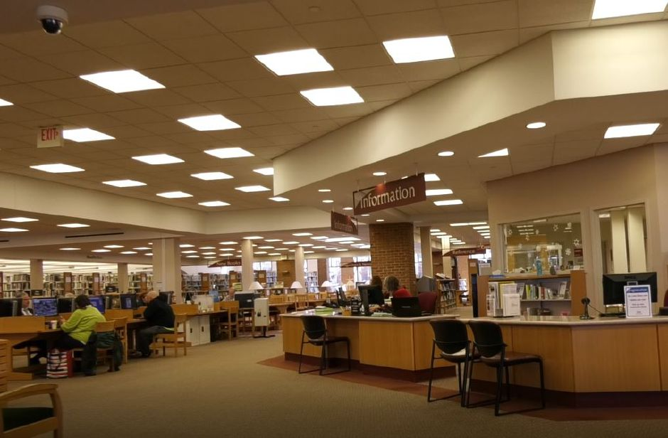 Wallingford Public Library, 200 North Main St., Wallingford. | Ashley Kus, Record-Journal