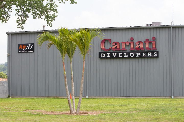 Cariati Developers on North Plains Industrial Road in Wallingford, July 19, 2017 | Justin Weekes / For the Record-Journal