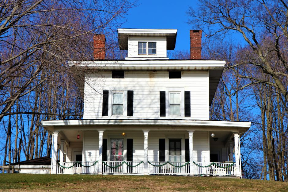 Milo Hotchkiss house on 289 Main St. dates as far back as 1855 and is believed to have ties to the Underground Railroad. Nadya Korytnikova