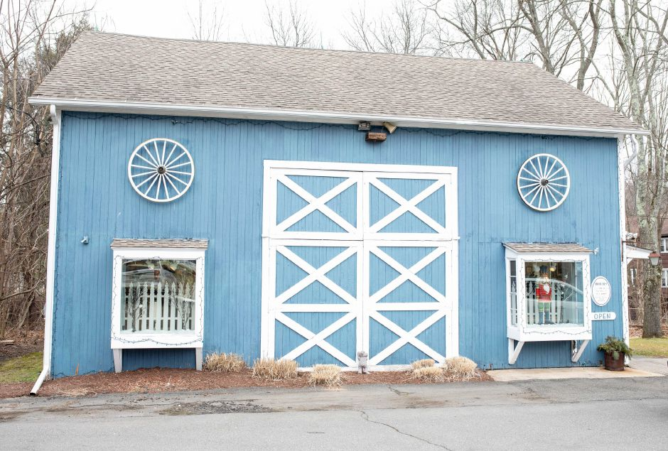The Old Blue Barn in Plainville will be closing after 25 years in business to allow the owner to retire. | Devin Leith-Yessian/Plainville Citizen