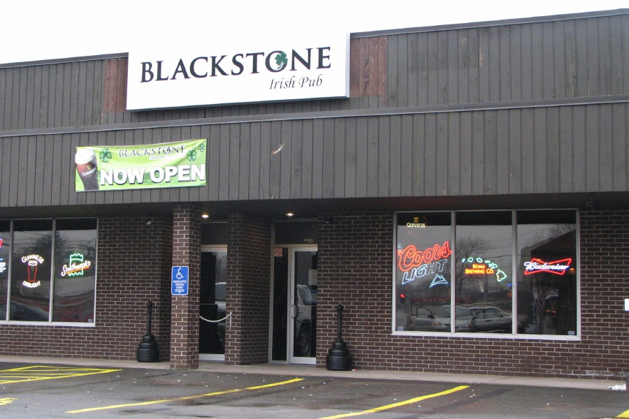 10. Blackstone Irish Pub, 1678 Meriden-Waterbury Tpke.