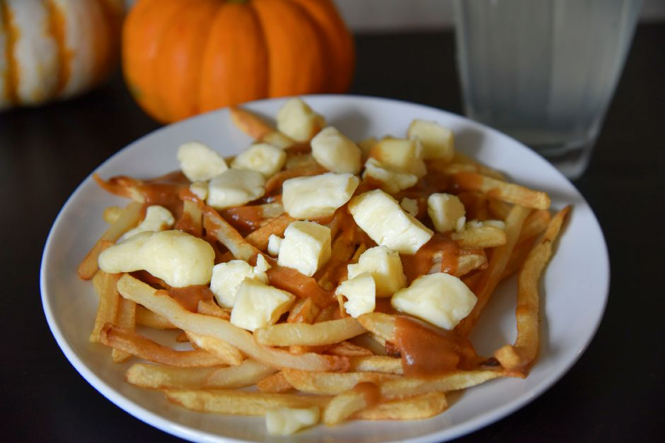 Homemade poutine, pictured Sept. 29, 2020. | Bailey Wright, Record-Journal
