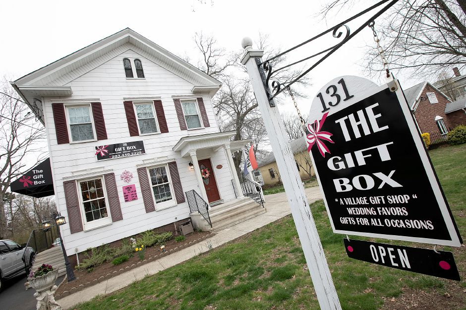The Gift Box shop, 131 Main St., South Meriden.