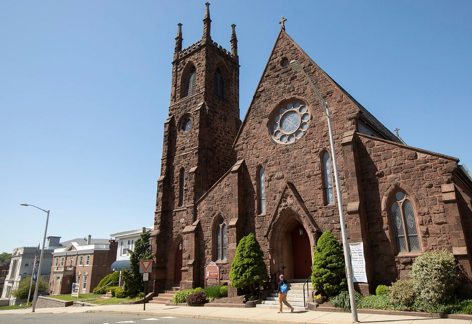 St Andrew's Episcopal Church at 20 Catlin St., Meriden, on Wednesday. Dave Zajac, Record-Journal