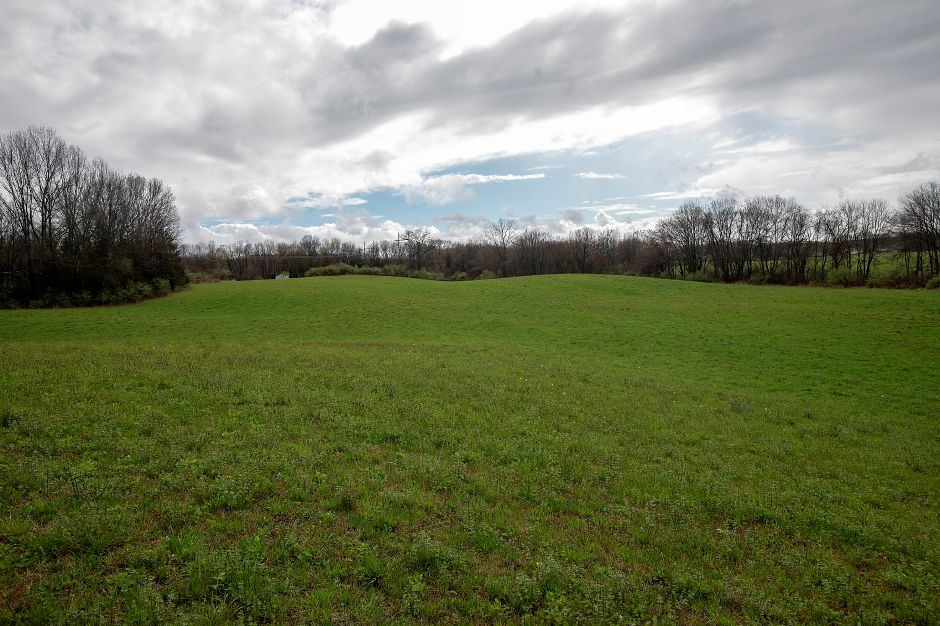 A Solar farm is proposed for this field off East Street in Southington.