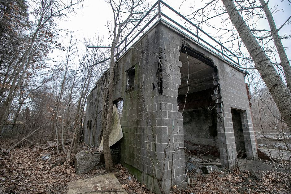 A dilapidated structure on the former Beaton & Corbin factory site on North Main Street in Southington, Tues., Jan. 14, 2020. A local developer has proposed a commercial plaza for the site. Dave Zajac, Record-Journal