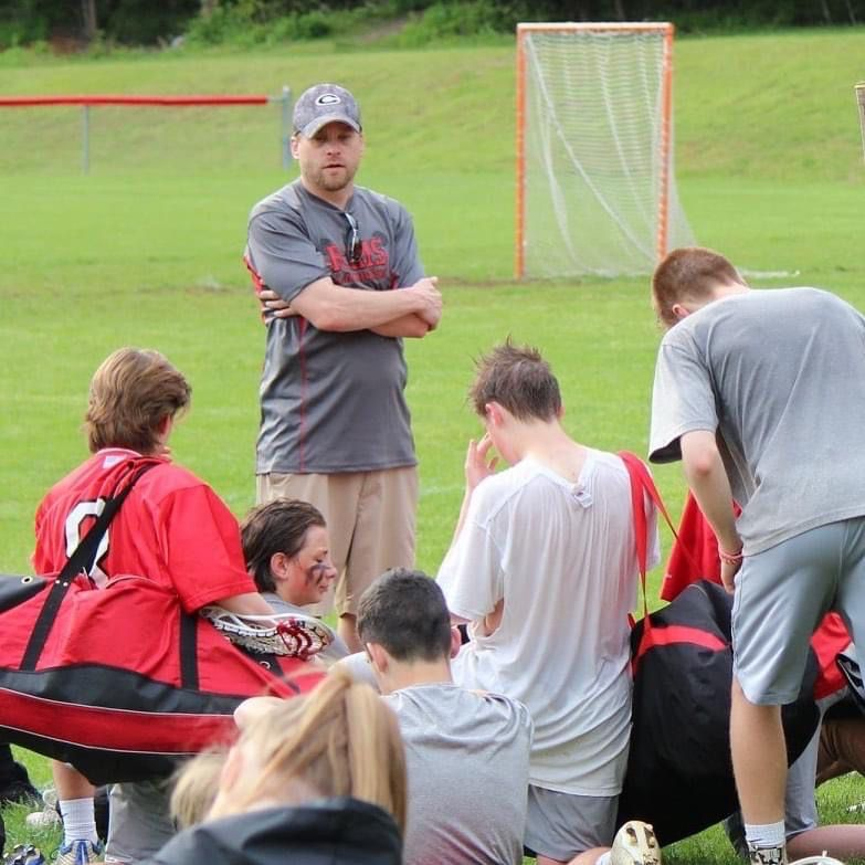 Brian Perry starred for Cheshire in football and lacrosse in the 1990s. After college, he returned to his alma mater to help coach both programs. Perry died on November 20 at age 43 from diabetic complications. Submitted photo