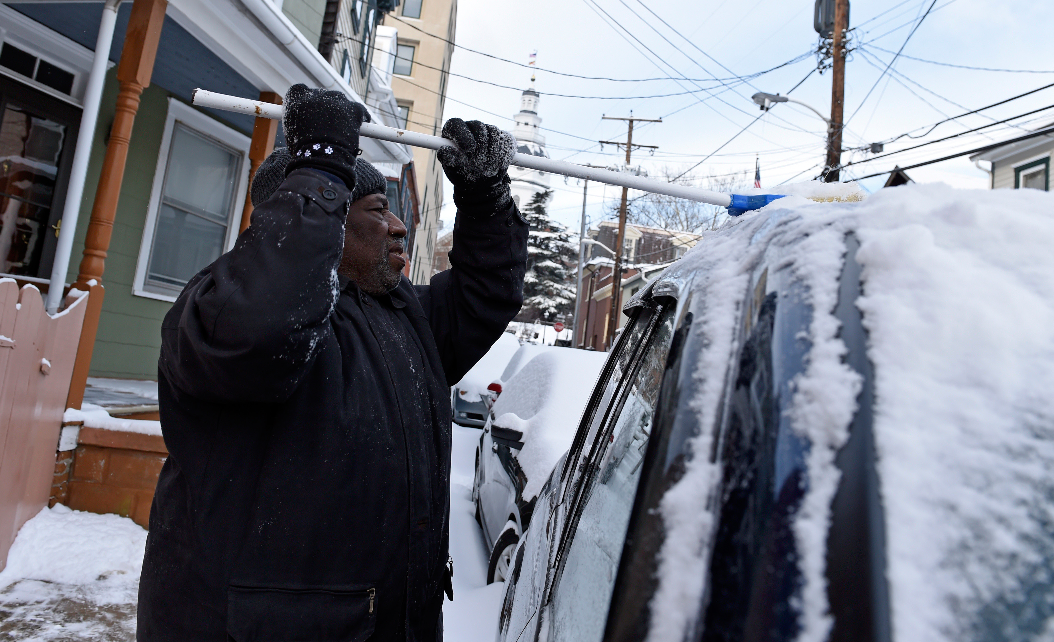 DURHAM, N.C. — A powerful winter storm dumped snow from ...