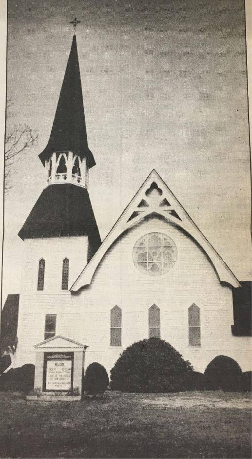 "July 1990: The Plantsville Congregational Church prepared to celebrate its 125th anniversary. The church, on West Main Street, hosted an ice cream social and planned a trip to Plymouth Rock and Plymouth Plantation, ""where the first Congregationalists walked,"" according to a Record-Journal story. 