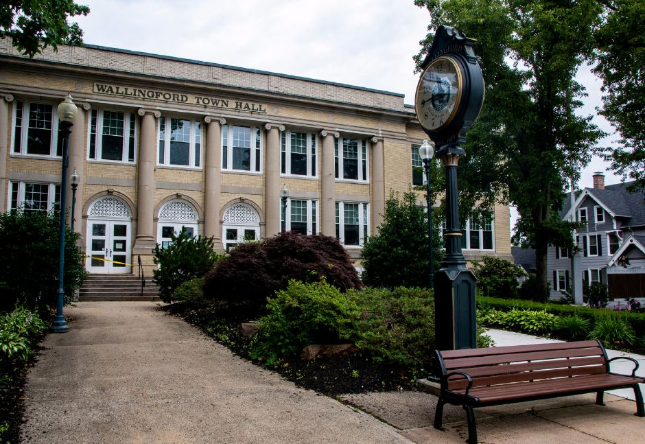 FILE: The Wallingford Town Hall. Aaron Flaum, Record-Journal