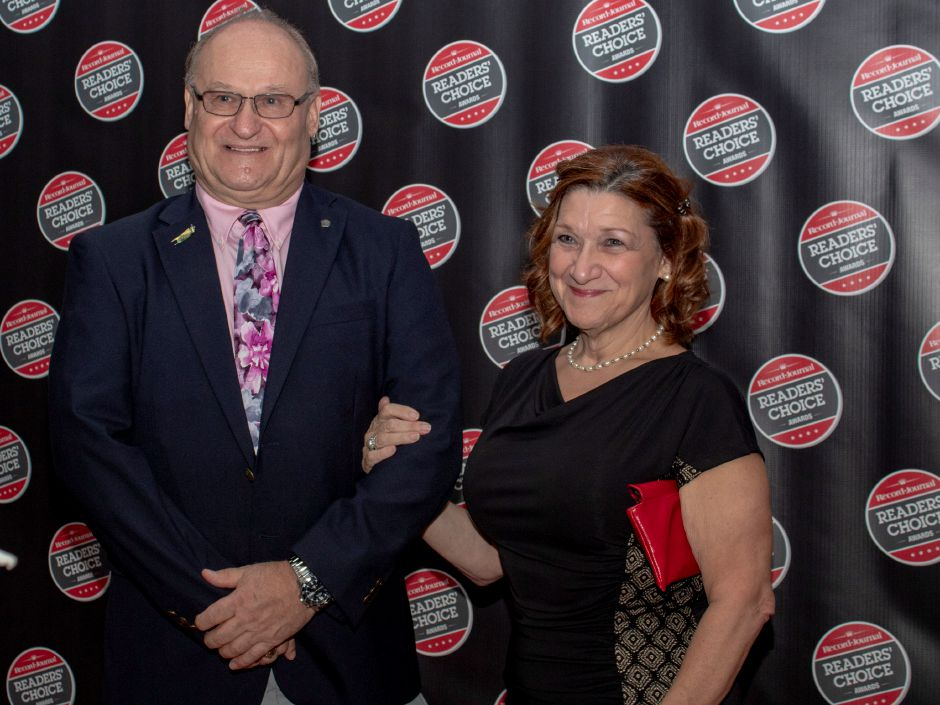 On the red carpet at the Record-Journal Readers Choice Awards event at the Aqua Turf Oct. 10, 2018. | Andreas Yilma, Special to the Record-Journal