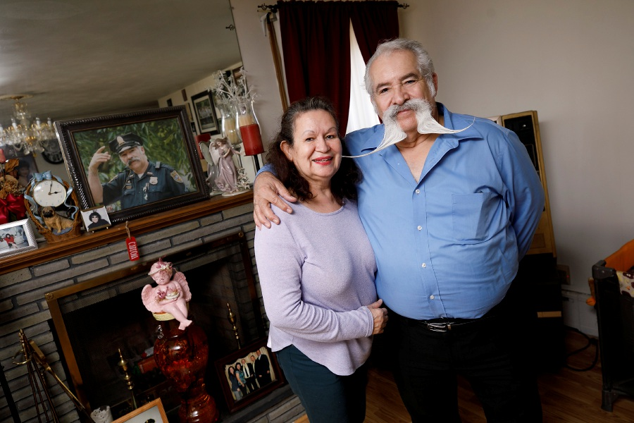 Hector Cardona Sr., and wife Sarah at their residence in Meriden, March 9, 2021. Dave Zajac, Record-Journal