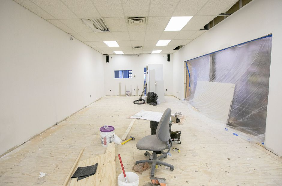 La Poblanita Grocery & Deli is expanding into this space at 41 Colony St., Thurs., Aug. 15, 2019. Dave Zajac, Record-Journal