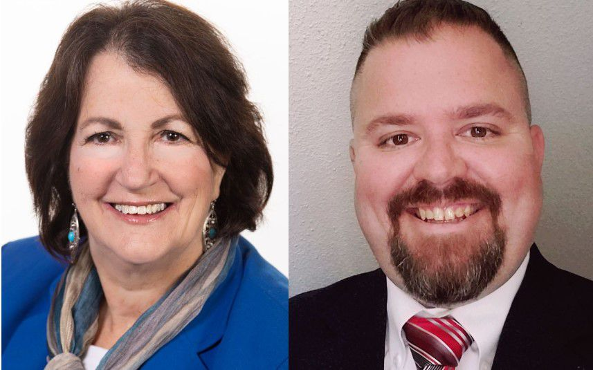 Democratic incumbent Cathy Battista (left) faces Republican challenger Michael Carabetta in the Area 4 City Council race. | Submitted photos.