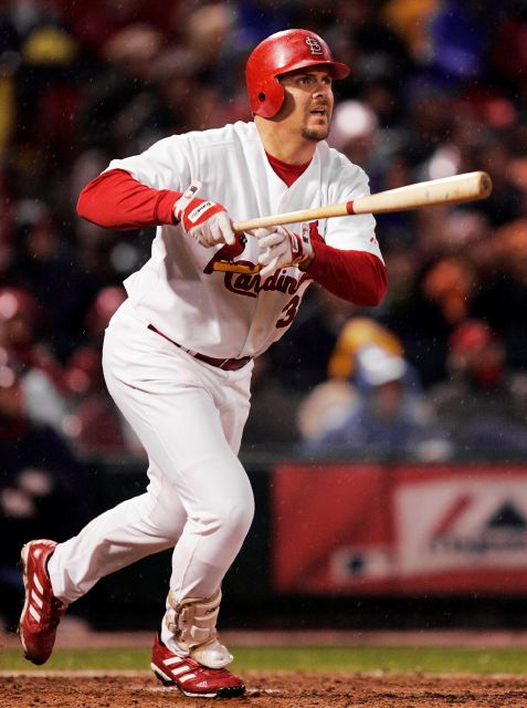 FILE - In this Oct. 14, 2004, file photo, St. Louis Cardinals