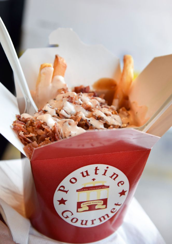 Chicken bacon ranch poutine from  Poutine Gourmet food truck. Bailey Wright, Record-Journal