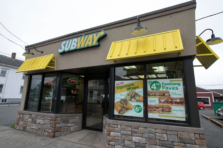 The Subway restaurant at 218 N. Colony St. in Wallingford, seen on Wednesday. Dave Zajac, Record-Journal