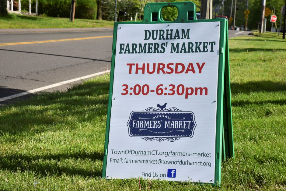 Durham residents submitted letters supporting additional funding for the Farmers' Market during the 2021-22 fiscal year. Market Master Jon Scagnelli has requested $13,900. | Record-Journal file photo.