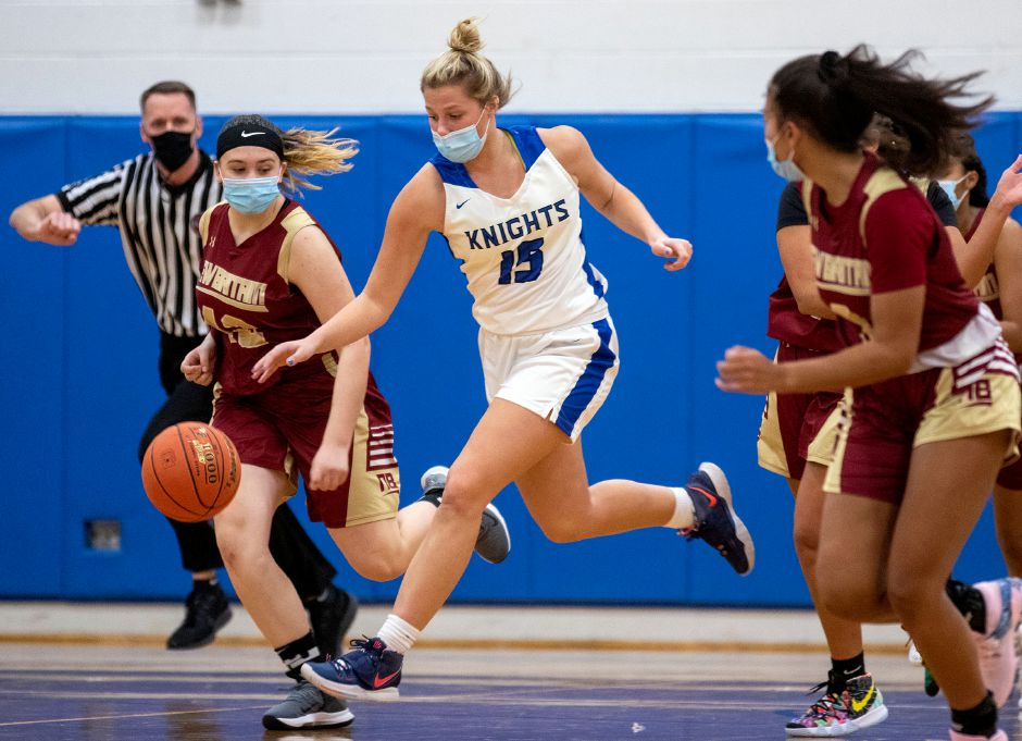 All-Conference and All-RJ in both soccer and basketball, Allison Carr is flat-out one of the best all-around athletes — boy or girl — at Southington High School. Aaron Flaum, Record-Journal
