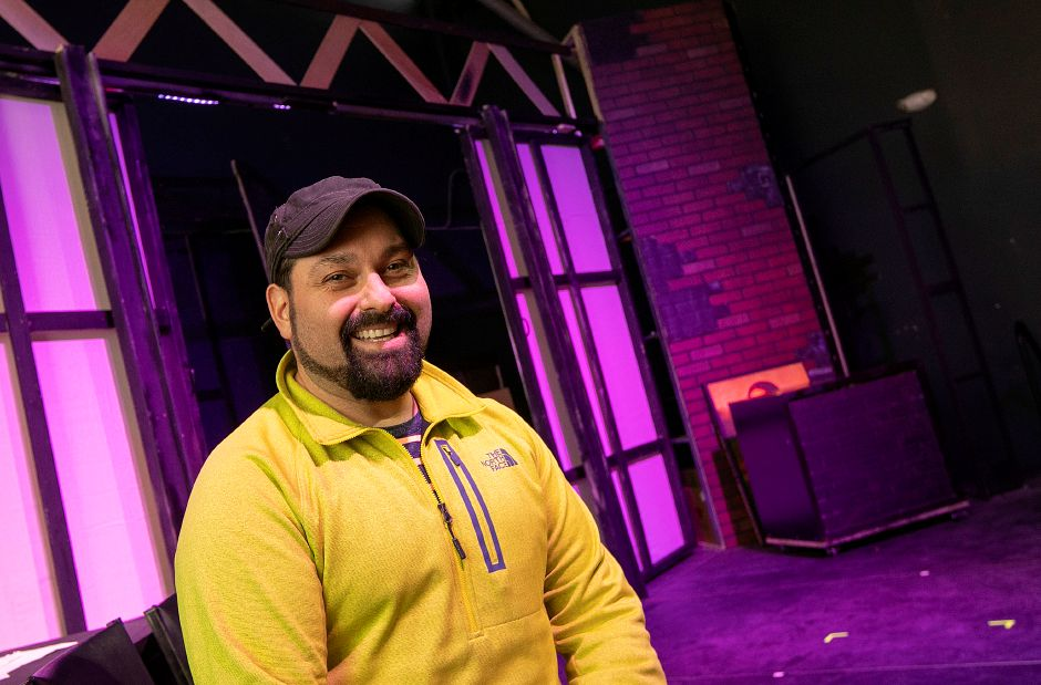 Jared Andrew Brown, co-founder and artistic director of The Square Foot Theatre, 950 Yale Ave., Wallingford, Tues., Apr. 2, 2019. The theatre is opening a bar and lounge. Dave Zajac, Record-Journal