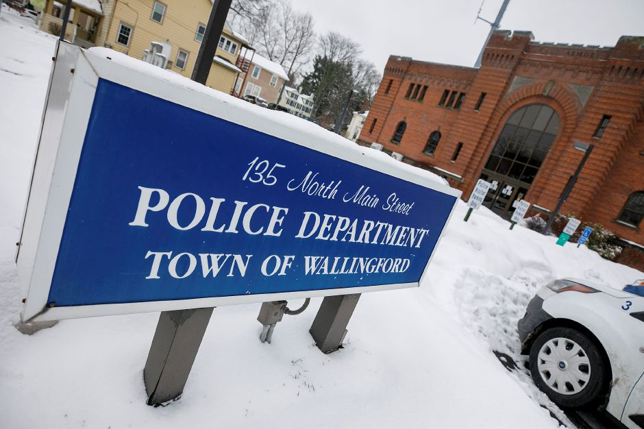 The Wallingford Police Department, Fri., Feb. 19, 2021. The town finished last fiscal year with a surplus of 2.433 million, according to the Comprehensive Annual Financial Report (CAFR). Dave Zajac, Record-Journal