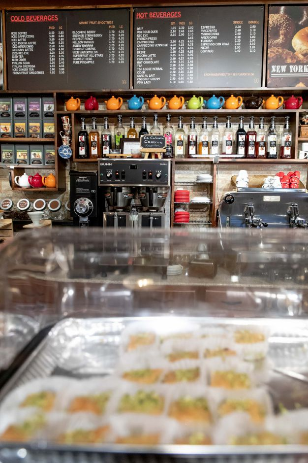 Busy Bean Coffee Shop, on Main Street in Berlin, opened on Feb. 4, 2019. The cafe sells baked goods, coffee and ice cream. | Devin Leith-Yessian/Berlin-Citizen