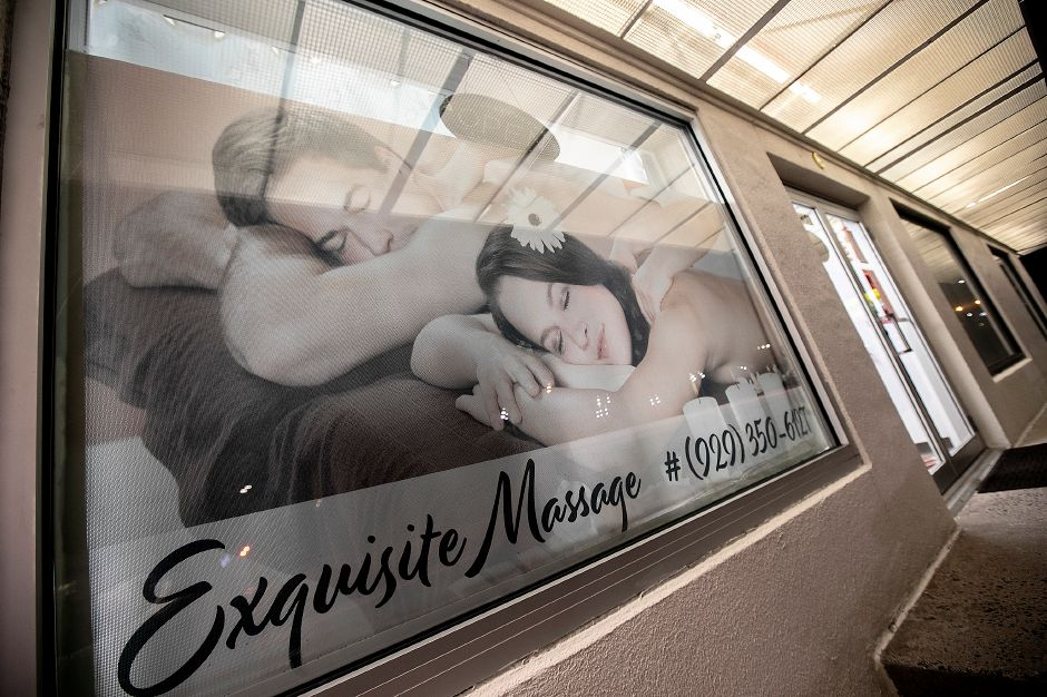 Exquisite Massage at 1209B South Broad St. in Wallingford Thurs., Jan. 30, 2020. Dave Zajac, Record-Journal