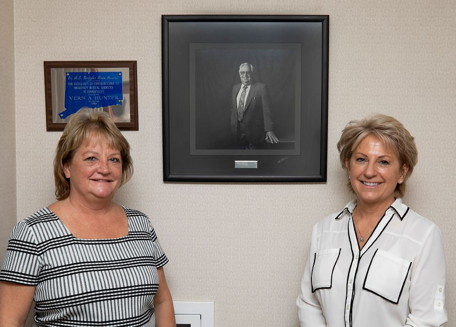 Dana Hunter-Moyer, vice president of Business Development, left, and Donna Hunter, chief executive officer of Hunter