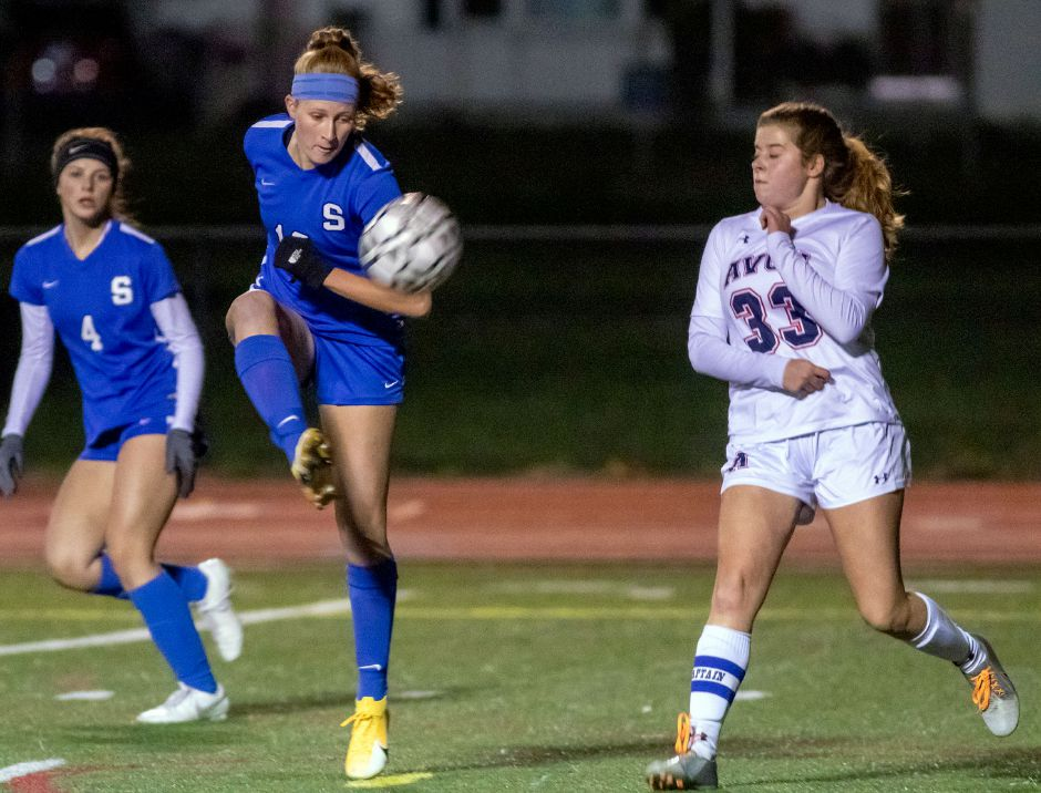 Southington's Abby Sowa, the reigning Record-Journal Girls Soccer Player of the Year, was named All-New England and All-State this season.