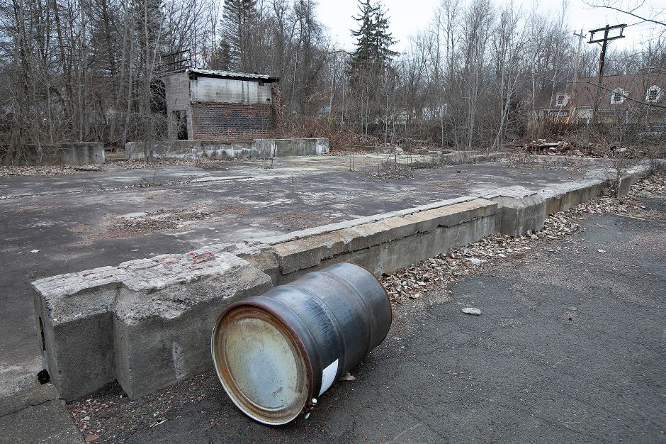 The remains of the former Beaton & Corbin factory on North Main Street in Southington. A local developer has proposed a commercial plaza for the site. Dave Zajac, Record-Journal