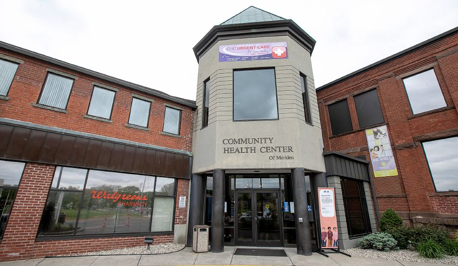 The Community Health Center on State Street in Meriden, Mon., May 13, 2019. Dave Zajac, Record-Journal