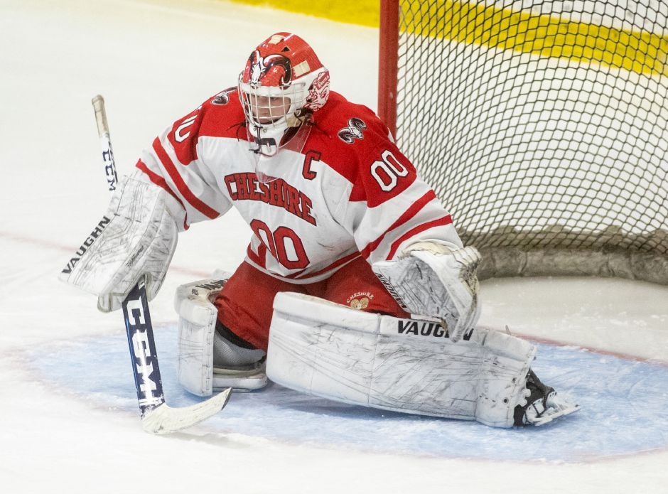 Widely considered to be the state's top goaltender, Cheshire's Nick Maringola was named the state's Division II Player of the Year. It was a first for the Cheshire ice hockey program.