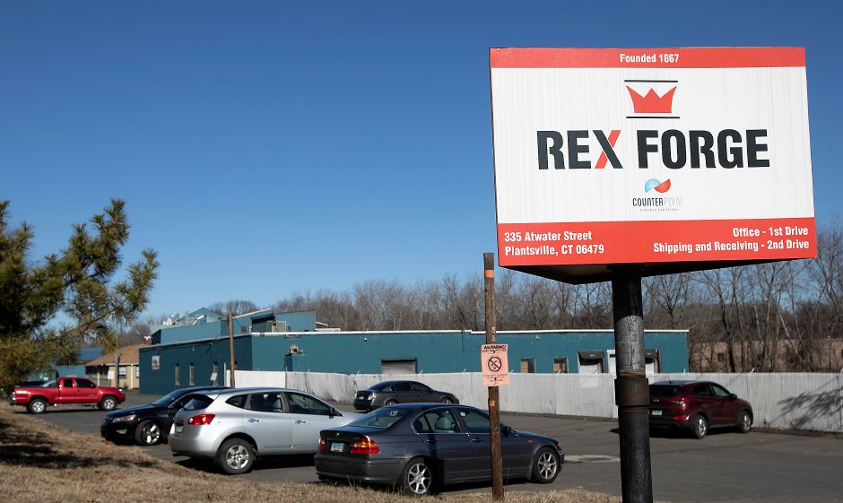 Rex Forge, a manufacturer of closed die hot metal forgings at 355 Atwater St., Southington, Fri., Feb. 14, 2020. | File photo