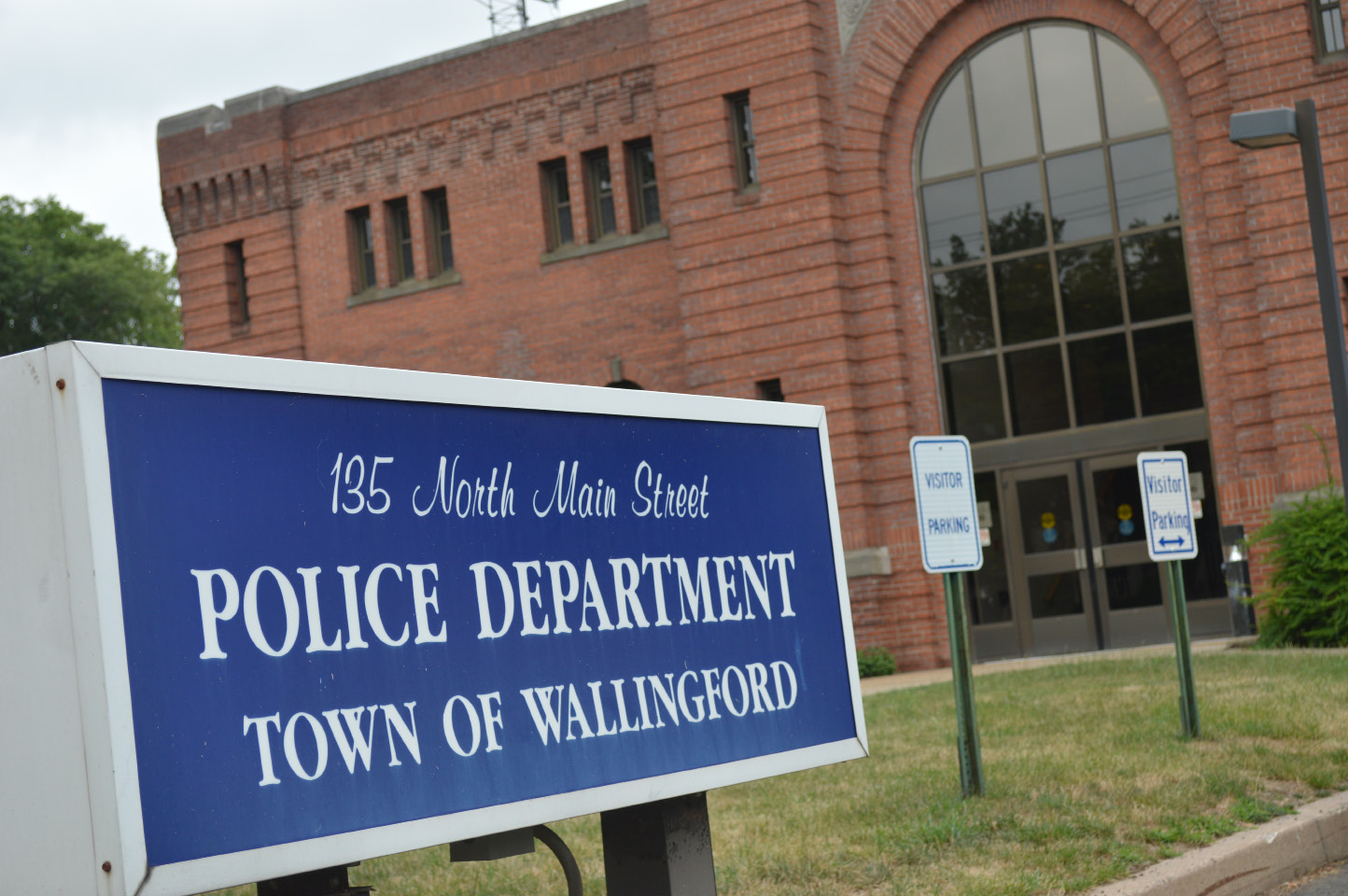 The police department on North Main Street in Wallingford. | Clare Dignan, Special to the Record-Journal