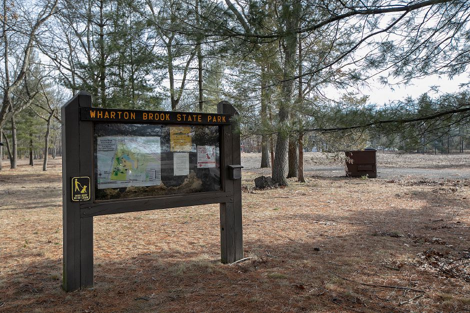 Wharton Brook State Park in Wallingford, Tues., Jan. 15, 2019. The park has reopened after a microburst in May of 2018 shut it down. Dave Zajac, Record-Journal