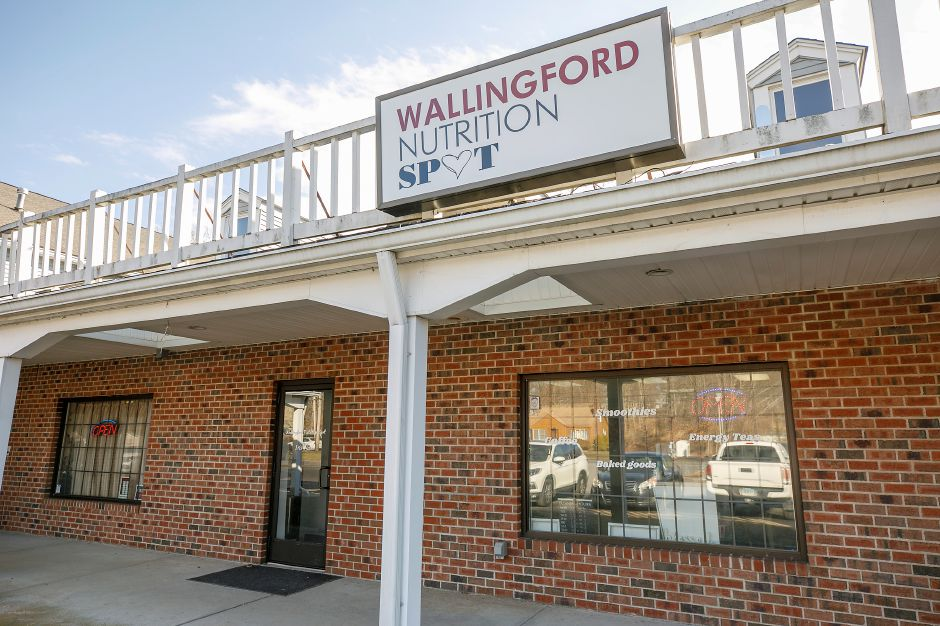 Wallingford Nutrition Spot, a new business at 314 Main St., Yalesville, Fri., Jan. 22, 2021. Dave Zajac, Record-Journal