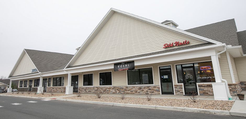 Five businesses plan to open this year in the plaza  at 1095 West St. in Southington. Dave Zajac, Record-Journal