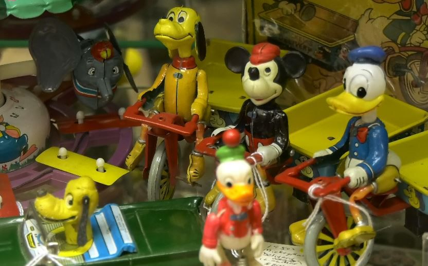 Early Disney items displayed at the Barker Character, Comic and Cartoon Museum, 1188 Highland Avenue, Cheshire. |Ashley Kus, Record-Journal