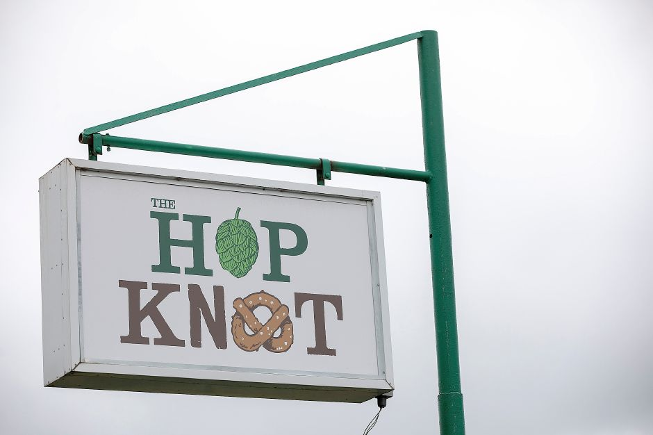 The Hop Knot at 1169 Meriden-Waterbury Turnpike in Southington, Thurs., Sept. 12, 2019. The business is temporarily closed according to a sign posted on the front door. Dave Zajac, Record-Journal