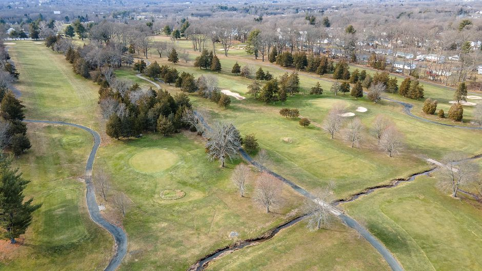 Partial view of the back nine at Southington Country Club, Mon., Jan. 25, 2021. Town officials are considering a development rights purchase for Southington Country Club, a 4.5 million deal that would prevent housing construction on the 90-acre golf course. Dave Zajac, Record-Journal