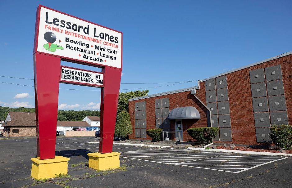 Lessard Lanes, 136 New Britain Ave., Plainville, Wed., Jul. 29, 2020. Most area alleys have opened back up and Lessard Lanes has made many adjustments to make their bowlers feel safe. Dave Zajac, Record-Journal