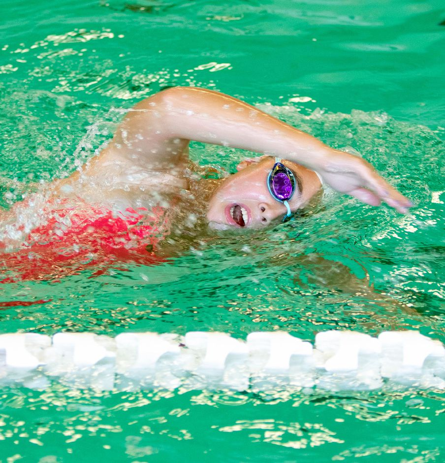 One of the Meriden Co-op's top swimmers is Maloney junior Avery Benigni, a state qualifier in the freestyle sprints and butterfly.