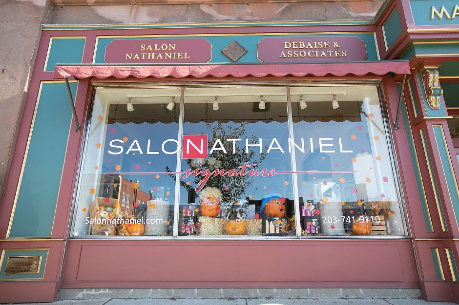 The new Salon Nathaniel Signature at 33 N. Main St. in Wallingford, Wed., Nov. 6, 2019. Dave Zajac, Record-Journal