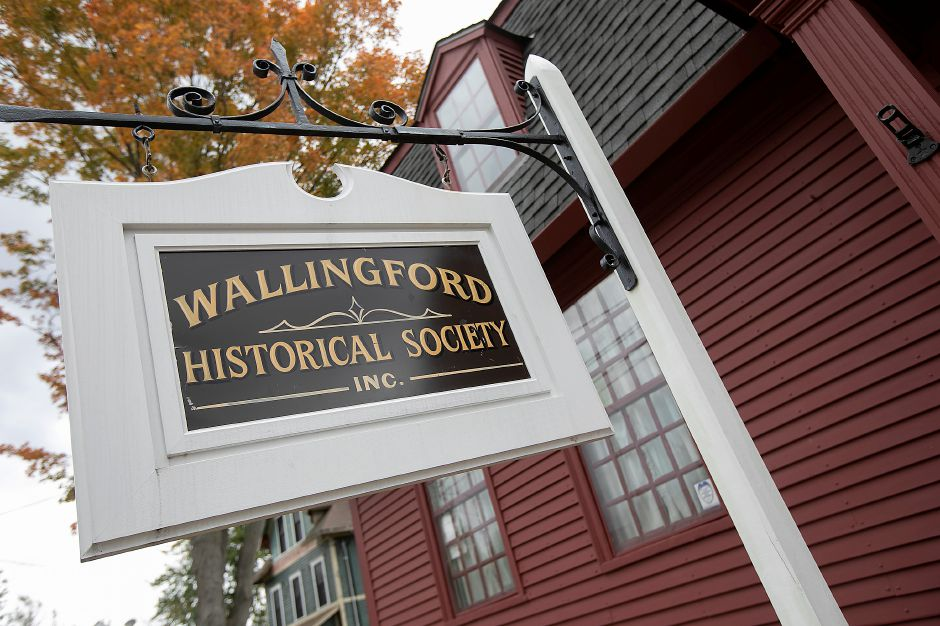 The Wallingford Historical Society, Wed., Oct. 16, 2019. Dave Zajac, Record-Journal